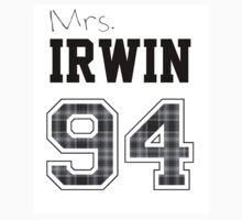 Mrs. Irwin 94 white Kids Tee