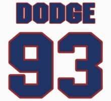 National football player Kirk Dodge jersey 93 by imsport