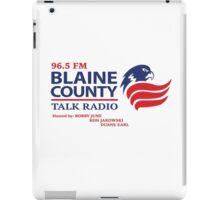Blaine County Talk Radio iPad Case/Skin