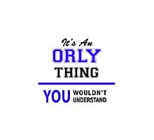 It's an ORLY thing, you wouldn't understand !! by thenamer