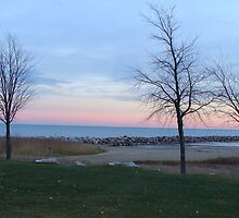 Lake Michigan Racine, WI by Scottzye