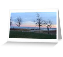 Lake Michigan Racine, WI Greeting Card