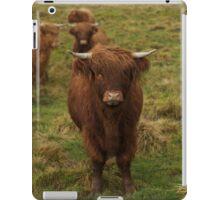 Highland cattle iPad Case/Skin