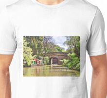 Sheltered Mooring on the Kennet and Avon canal Unisex T-Shirt