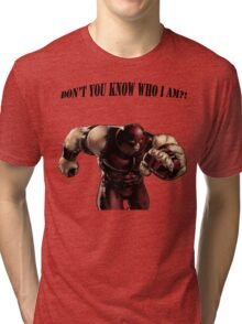 I'M THE JUGGERNAUT Tri-blend T-Shirt