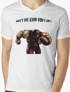 I'M THE JUGGERNAUT Mens V-Neck T-Shirt