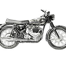 1961 BSA Super Rocket Motorcycle by surgedesigns