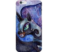 Nightmare Moon in watercolor iPhone Case/Skin