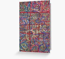 Wire Weaver Greeting Card