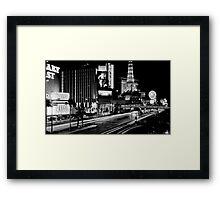 """""""Vegas Strip"""" Framed Print"""