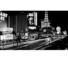 """Vegas Strip"" Photographic Print"
