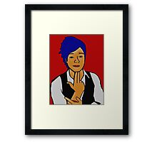 Paper Rock Scissors  Framed Print