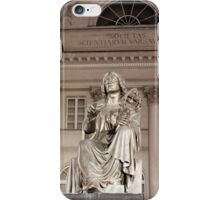 Warsaw Poland Copernicus Monument.  iPhone Case/Skin