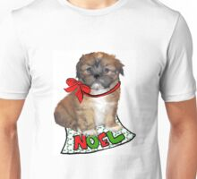 Christmas Lhasa Apso Unisex T-Shirt