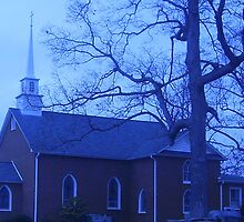Antioch Baptist Church, Timberlake, NC by Thomas Josiah Chappelle