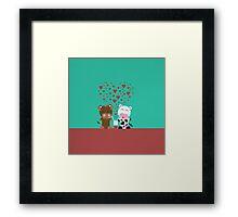 Milkshake Love Framed Print