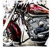 red harley Poster