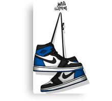 FRAGMENT DESIGN X AIR JORDAN 1 RETRO HIGH OG Canvas Print