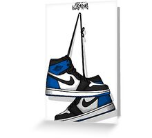 FRAGMENT DESIGN X AIR JORDAN 1 RETRO HIGH OG Greeting Card