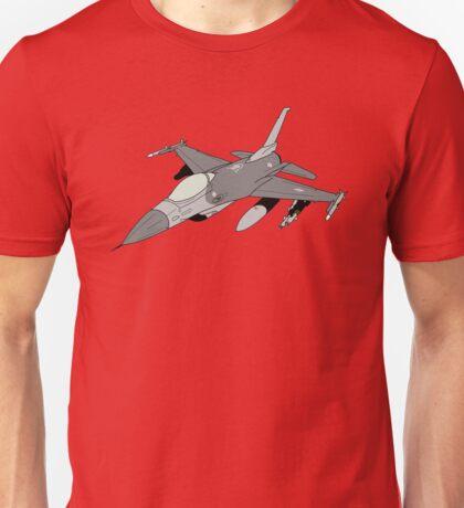 "F-16 ""Fighting Falcon"" Viper Unisex T-Shirt"