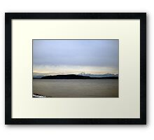 View from Alki Framed Print