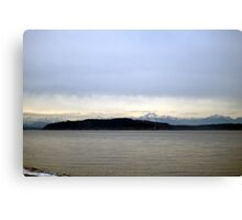 View from Alki Canvas Print