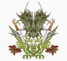 Twin Dragon Blades  by Matt83artist