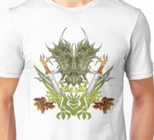 Twin Dragon Blades  Unisex T-Shirt