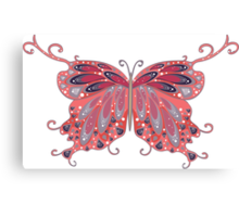 Abstract Fantasy Butterfly 2 Canvas Print