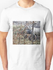 Winters Hush,Peaceful Ouiet Unisex T-Shirt
