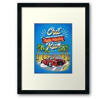 Racing Adventure  Framed Print