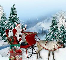 Snowdrop the Maltese & The Sleigh Ride ! by Morag Bates