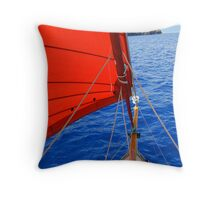 Caraway Sailing Throw Pillow