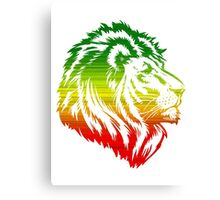 King of the Pride RASTA Canvas Print