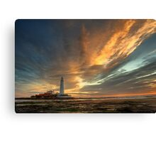 Sweeping Skies Canvas Print