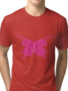Abstract Fantasy Butterfly 4 Tri-blend T-Shirt