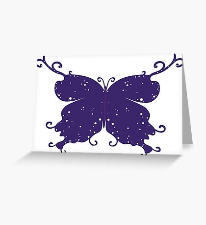 Abstract Fantasy Butterfly 5 Greeting Card