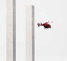 Red Helicopter by Marnie Hibbert