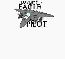 I Love My Eagle Pilot Womens Fitted T-Shirt
