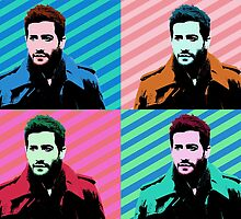 Jake Gyllenhaal Pop Art by Ingogliajv