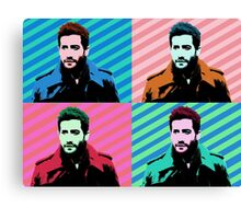 Jake Gyllenhaal Pop Art Canvas Print