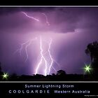 Summer Lightning Storm by Daniel Fitzgerald
