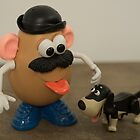 Mr Potato Head and his doggy  by Rob Hawkins