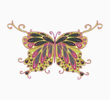 Abstract Fantasy Butterfly 8 One Piece - Short Sleeve