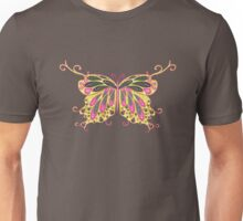 Abstract Fantasy Butterfly 8 Unisex T-Shirt