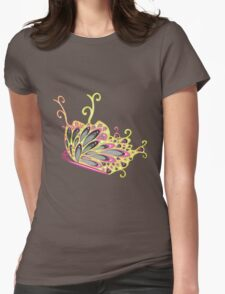 Abstract Fantasy Butterfly 9 Womens Fitted T-Shirt