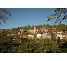 Ironbridge Village Photographic Print