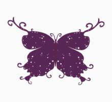 Abstract Fantasy Butterfly 10 Kids Tee