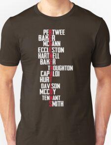 Dr Who Regenerations T-Shirt