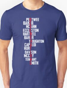 Dr Who Regenerations T-Shirt